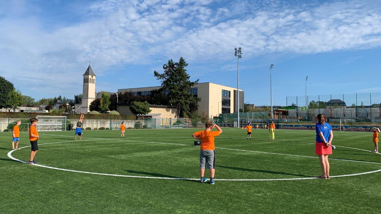 Vakantieweek 2020_Spelletjes op het Voetbalveld