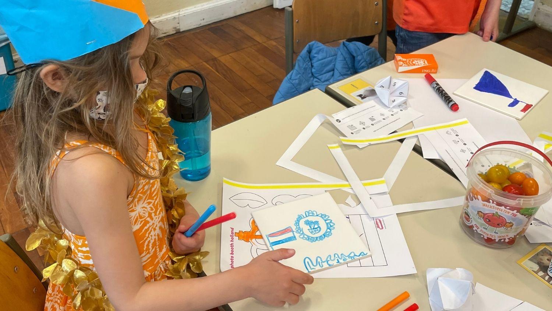 NTC Cultuurdag Koningsdag 2021 Delftsblauwe tegels