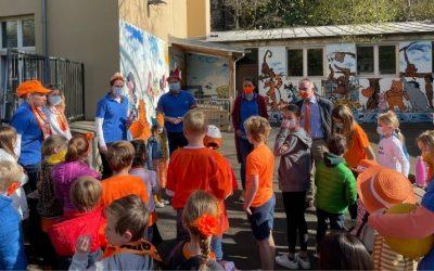 NTC kleurt oranje tijdens Cultuurdag Koningsdag 2021