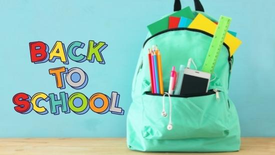 rugzak back to school