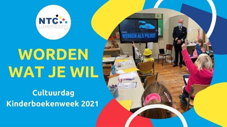 Worden wat je wil! Beroepen ontdekken tijdens Cultuurdag Kinderboekenweek