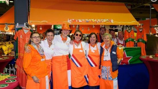 Dutch Stand Bazar International de Luxembourg