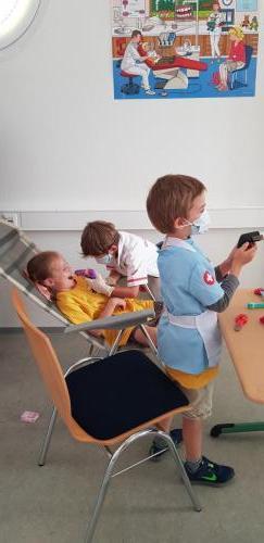 Rollenspel: bij de tandarts